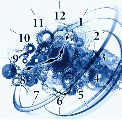 Rencontre entre le temps et l'espace