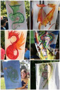 concours de dessin de dragon