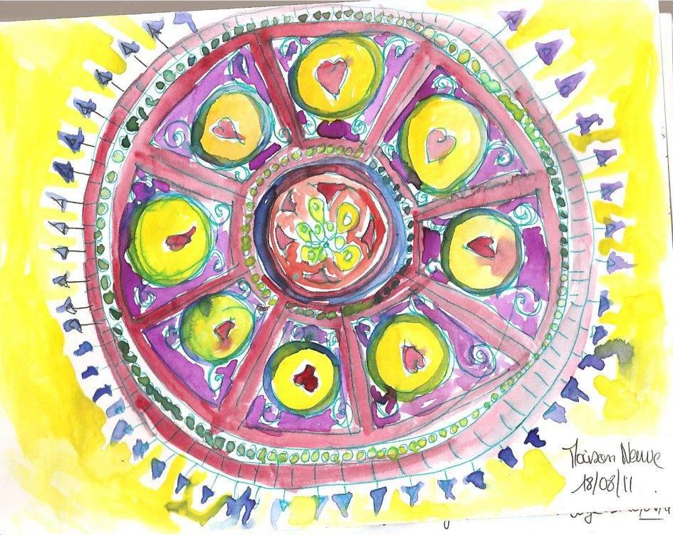 Peinture intuitive Noémie Abgrall Terre & Bentine