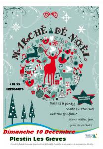 Marché de Noël de Plestin Lès Grèves @ Place de l'église | Plestin-les-Grèves | Bretagne | France