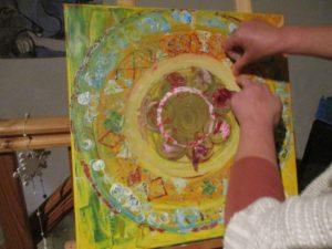 Journée créative: le mandala de la clef de naissance @ Atelier Terre & Bentine | Guerlesquin | France
