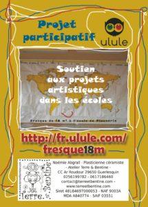 CAMPAGNE DE FINANCEMENT PARTCIPATIF sur Ulule Jusqu'au 7 septembre 2018 @ Atelier Terre & Bentine