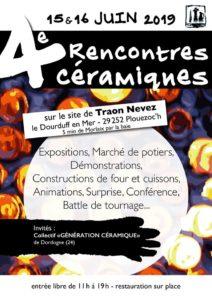 4 èmes rencontres céramiques à Traon Nevez au Dourduff en Mer @ Traon Nevez | Plouezoc'h | Bretagne | France