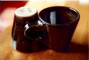 Tasses à café en grès