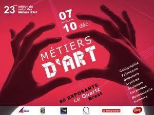 Salon des Métiers d'arts au Quartz à Brest