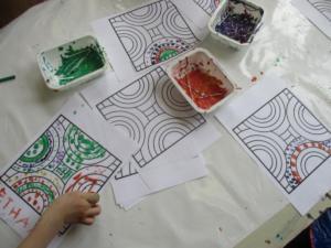 empreintes, cotons tiges pastels gras (8) (Copier)