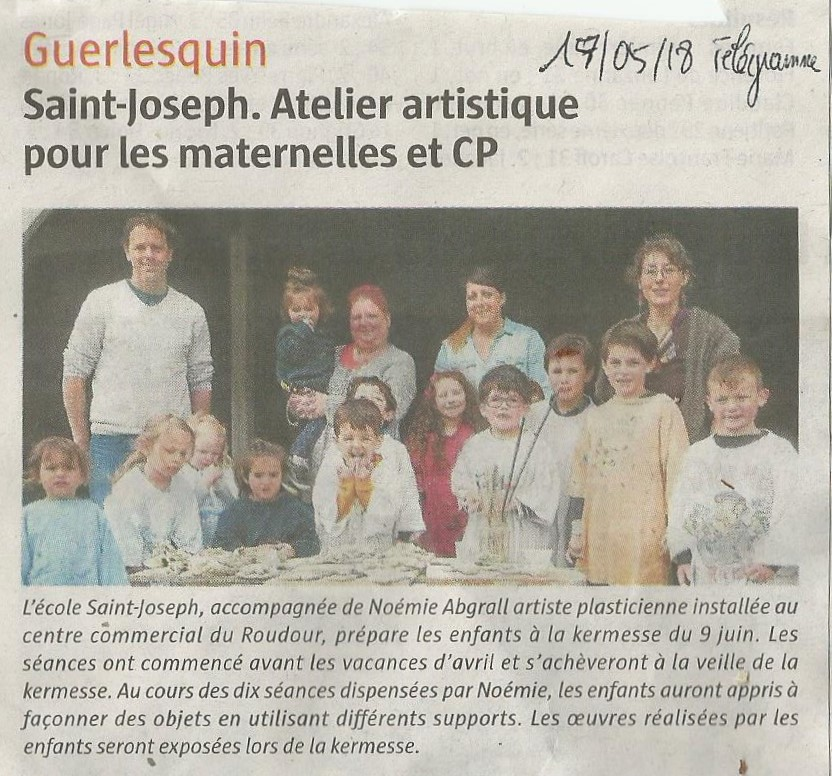 Article ecole st jo intervention