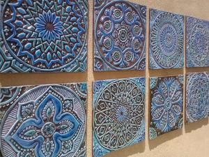 Mandalas en poterie
