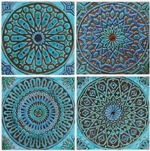 mandalas en poterie (8)