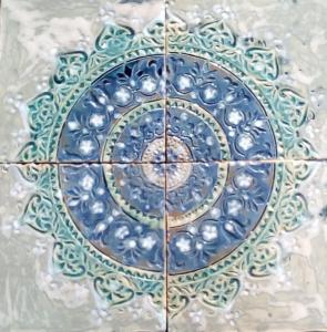 Mandala sur céramique