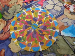 Mandalas en collages
