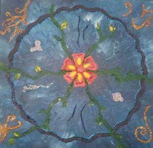Mandala de l'empreinte de naissance 4
