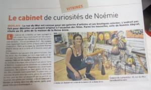 """""""Coté Morlaix"""": ouverture du cabinet de curiosités """"Terre & Bentine"""" - 35, rue du Mur 29600 Morlaix"""