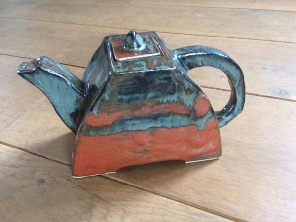 théière atelier terre et bentine cours de poterie morlaix