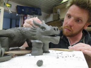 Yann Hoccry & son dragon (Copier)