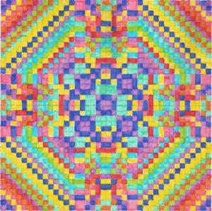 Mandalas à structure optique