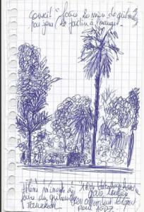 Maroc jardin Terre & Bentine